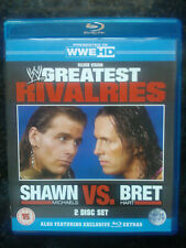 WWE Greatest Rivalries - Shawn Michaels Vs. Bret Hart on Blu Ray (2 Disc)