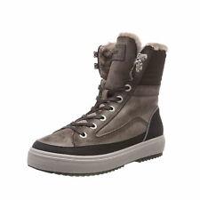 BOGNER Damen Schneestiefel Schuhe Anchorage L1D / Dark Braun Leder