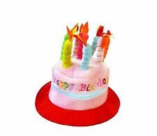 Cappello Compleanno Happy Birthday - Berretto Auguri Festa Party Scherzo Torta