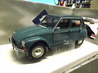 CITROEN Dyane 6 Ente 1970 Limousine petrol blau grün Solido 1:18
