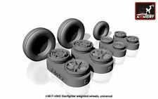 Armory AW48312 1/48 Resin Lockheed F-104G Starfighter wheels