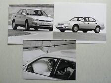 3 Pressefotos Toyota Camry 2,2 GL, 8.1991, je 21,5 x 16x5 cm, Rückseite Text