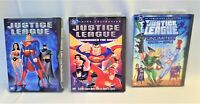 DVD Animated Movies Justice League Wonder Woman Superman Batman LOT-3 Works