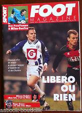 FOOT Magazine du 8/3/1995; Preud'homme/ Mircea Rednic/ Hugo Bross