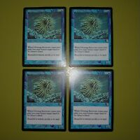 Glowing Anemone x4 Mercadian Masques 4x Playset Magic the Gathering MTG