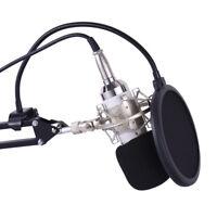 Professional Broadcasting Studio Recording Condenser Microphone Mic Kit J4L1
