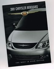 2001 Chrysler Minivan Folleto/ Folleto: Town & Country, Voyager LX, Mini-Van
