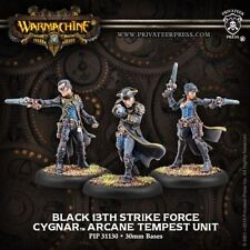 WARMACHINE Cygnar PIP31130 Black 13th Strike Force Arcane Tempest Unit NEW