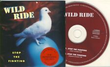 WILD RIDE - stop the fighting   2 trk MAXI CD cardsleeve