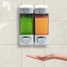 Soap Dispenser Liquid Wall Mount Toilet Bathroom Shower Shampoo Container Holder