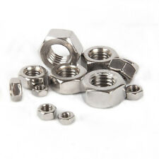 A4 316 Marine Grade Stainless Steel - Flange, Nyloc, Dome, Wing, Hex Nuts M3-M12