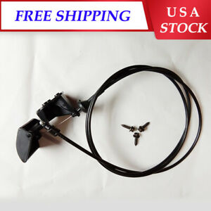 For 05-10 Jeep Grand Cherokee 06-10 Commander Hood Latch Release Cable w/ Handle