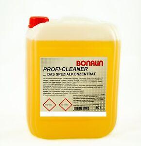 10 Liter Profi Cleaner Spezialreiniger fürs Auto, Caravan, Motorrad, Haushalt
