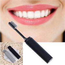 Portable Travel Bamboo Toothbrush Compact Folding Hygienic Holiday Camping LD