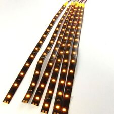 """12 Pack DC 12V Waterproof 1Ft 15 LED Strip Underbody Light with 6"""" wires 4 motor"""