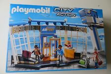 New  Sealed Playmobil 5338 City Action Airport with Control Tower