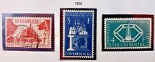 3 X Timbre Stamp Luxembourg 1956 CECA YT N° 511/513