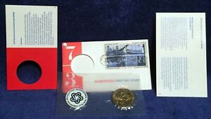 US Mint MEDALLIONS Boston Tea Party Bicentennial 1973 First Day Cover FDC Stamps