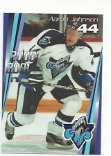 2000-01 Rimouski Oceanic (QMJHL) Aaron Johnson (Sheffield Steelers)
