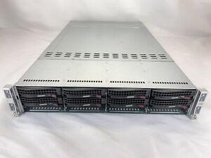Supermicro H8DGT 4-Node Server AMD Opteron 6378 2.4GHz (x8) 256GB RAM No HDDs