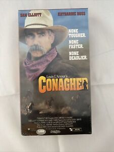 Conagher VHS Turner 1991 Western Sam Elliott Louis L'Amour HTF NEW SEALED
