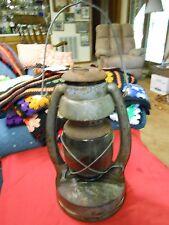 RARE PRIMITIVE Norleigh Diamond ANTIQUE Kerosene Lantern SHAPLEIGH Hardware Co