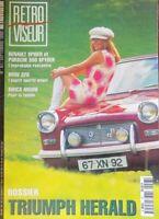 Rétroviseur n° 97 Triumph Herald - BMW 328 - Simca Ariane - Porsche 550 spyder..