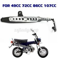 Muffler Exhaust Muffler Pipe System For Honda CT 70 CT70 49CC Motors Mini Trail