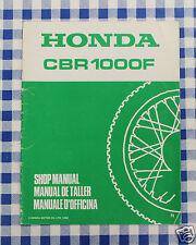 BB 67MM530X Manual De Taller Suplemento Honda CBR1000F N ImpresióN 1992