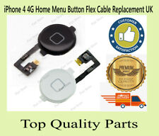 iPhone 4 4G Home Menu Button Flex Cable Replacement UK