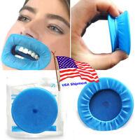 10Pcs Disposable Sterile Rubber Dam Dental Cheek Lip Retractor Opener Latex New