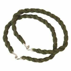 3 X Pairs Army Trouser Twists Twisters Military Elastic Leg Ties Bungee Cadet