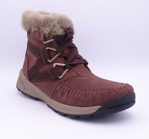 Columbia Margal Mid WP Brown Suede Women's Ankle Boots Size UK 3.5 EUR 36.5