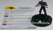 FOOT SOLDIER(NUNCHAKU) 007 Teenage Mutant Ninja Turtles TMNT HeroClix