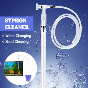 Aquarium Fish Tank Filter Sand Cleaner Water Changer Cleaning Maintenance Pump