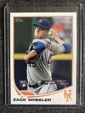 Zack Wheeler 2013 Topps Update Rookie Card RC. Philadelphia Phillies. N Y Mets