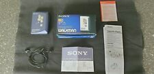 Blue Sony Walkman Cassette Player WM-EX500 Groove Personal Stereo BOXED COMPLETE