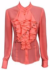 Dorothy Perkins Women's No Pattern Semi Fitted Long Sleeve Sleeve Tops & Shirts