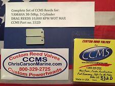 CCMS Yamaha Drag Outboard Reed Reeds 30-50hp 3 Cylinder PN332D