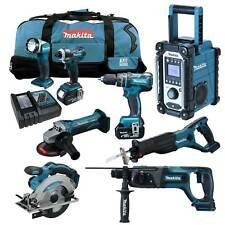 MAKITA LXT 18V 12tlg. Akku Werkzeug Set +DHP480RMJ Bohrschrauber +DHR241 RMJ