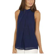 New Fashion Women's Chiffon Sleeveless Loose Tops Blouse Summer Casual Shirts