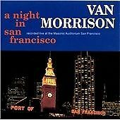 VAN MORRISON A NIGHT IN SAN FRANCISCO CD 2 DISCS LIVE 1994 GEORGIE FAME FREE POS