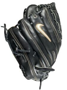 "Nike Diamond Elite 12"" Baseball Softball Glove Right Hand Throw Black"