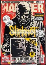 Metal Hammer May 2015 Slipknot Charlie Adlard The Walking Dead,KISS,Halestorm CD