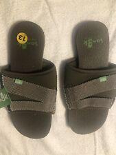 Sanuk Beer Cozy 2 Slide Men's Sandals Model # 1099395 DOL Size 13