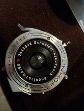 Schneider Kreuznach Linhof Angulon f6.8/90 Vintage Camera Lens ll