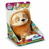 CLUB PETS MR SLOOOU BROWN SLOTH PLUSH INTERACTIVE PET IMC TOYS 90101IM3 REPEATS