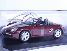 TC02P NEW Porsche Boxter S Convertible 1:18 1/18 Purple Diecast Car Model Maisto