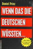 WENN DAS DIE DEUTSCHEN WÜSSTEN - Daniel Prinz & Jan van Helsing BUCH - NEU OVP