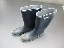 LACROSSE SIZE 5 BOYS BLUE RUBBER RAIN BOOTS 2E